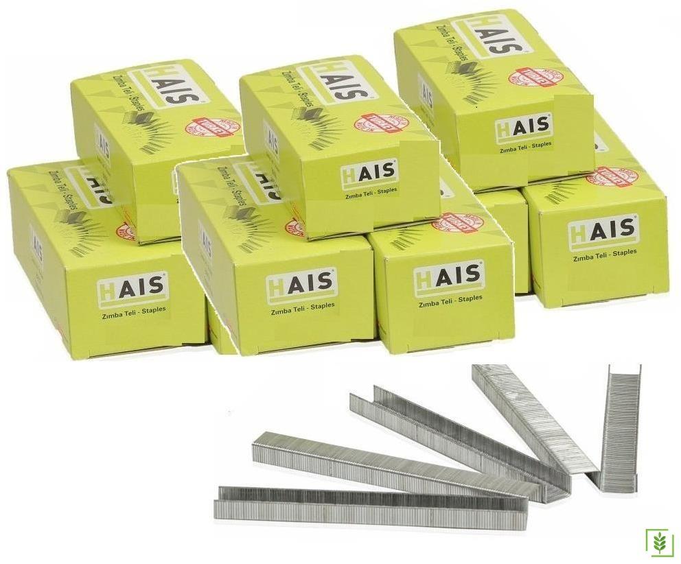 Hais 8010 Zımba Teli 12,7x16 mm 10 Kutu