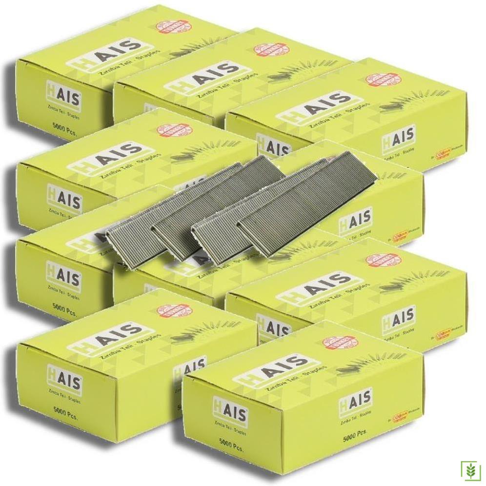 Hais 9020 Havalı Zımba Teli 5.80x20 mm 10 Kutu