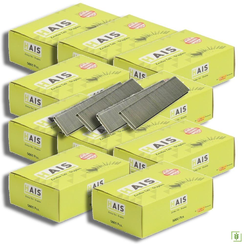 Hais 9040 Havalı Zımba Teli 5.80x40 mm 10 Kutu
