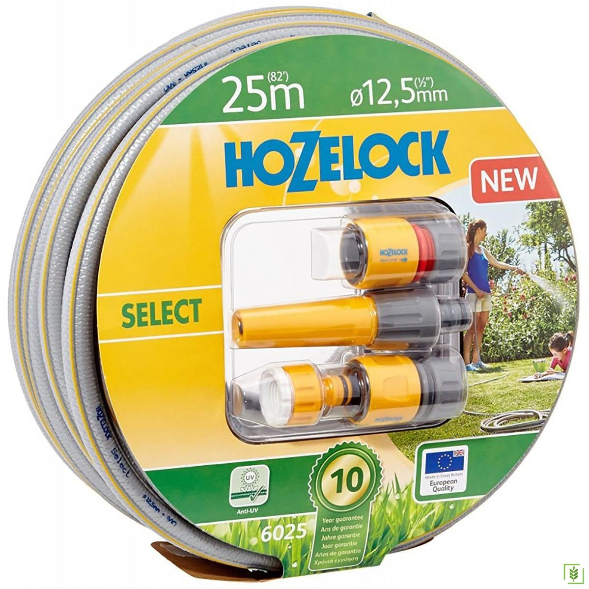 Hozelock 6025P9000 Hortum Select 1/2'' 25 m Başlangıç Setli Hortum