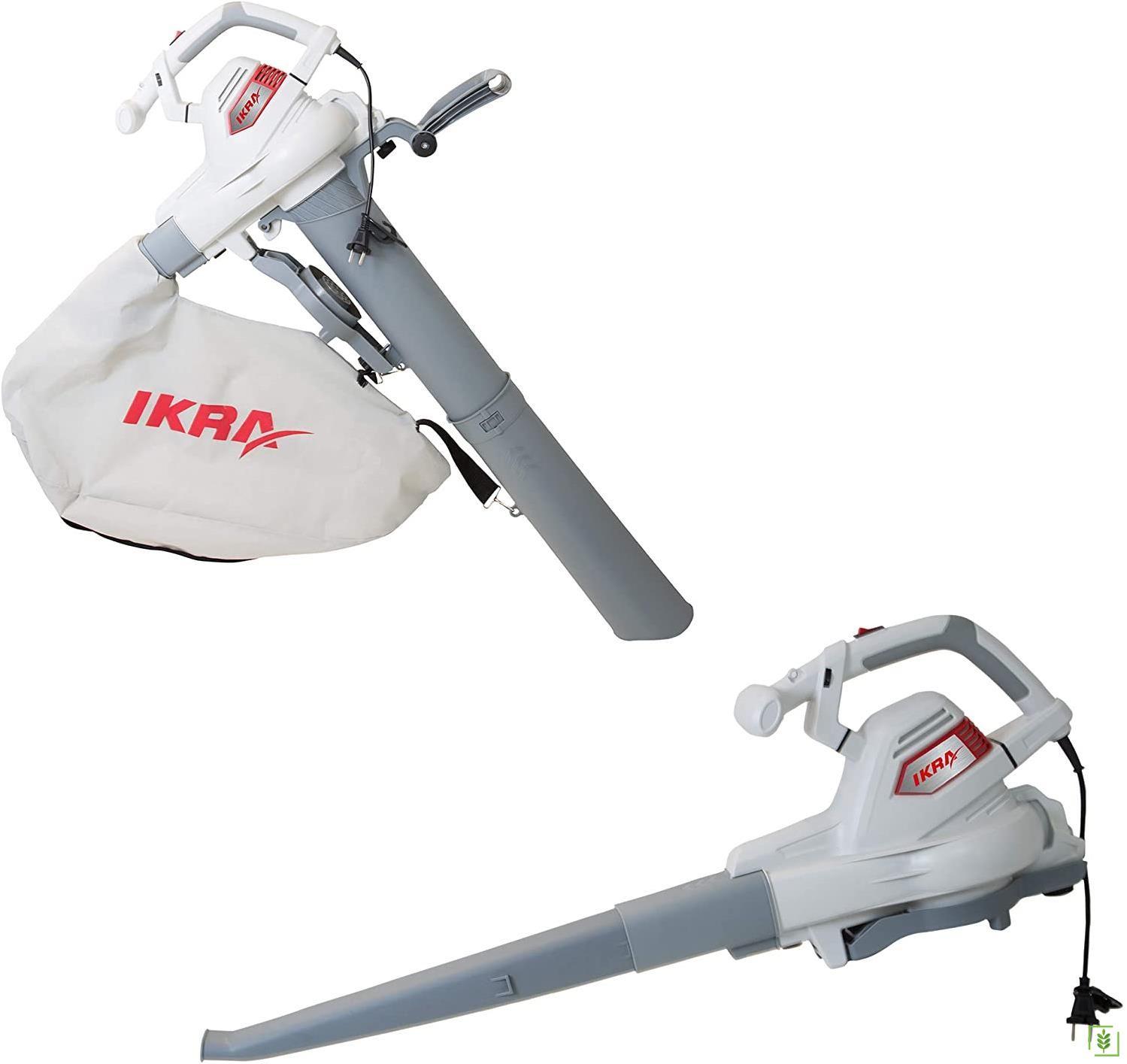 İkra ILS 3000 Elektrikli Yaprak Toplama Ve Üfleme Makinası 3000 Watt
