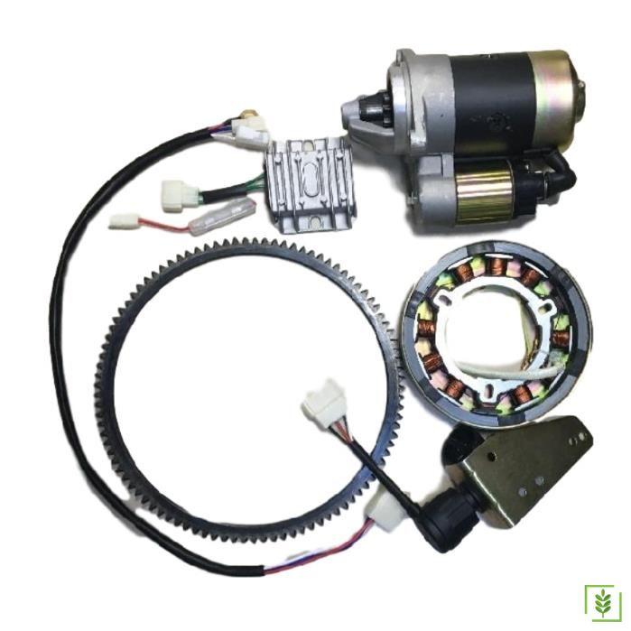 İtal Marş Motoru Seti 5 - 7 HP