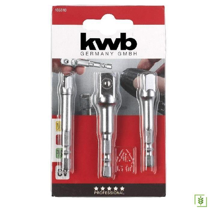 Kwb 105310 Lokma Adaptör Seti 3 Parça