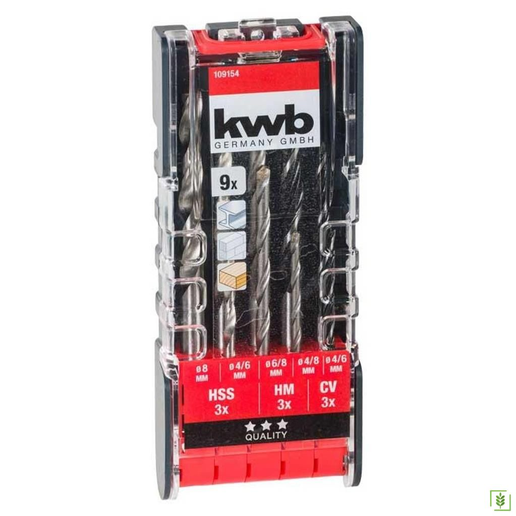 Kwb 109154 Combi Matkap Ucu Seti 9 Parça