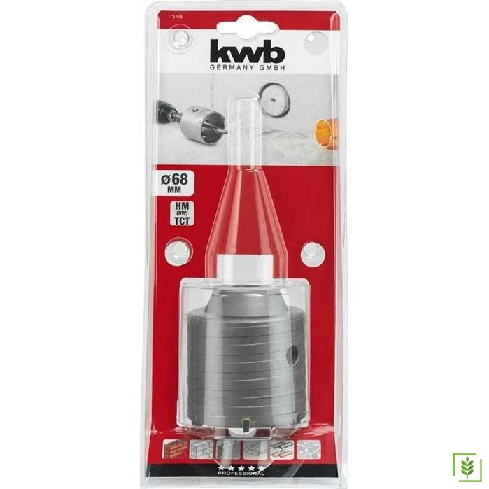 Kwb 175166 Profesyonel Beton Panç Adaptörü 66 mm