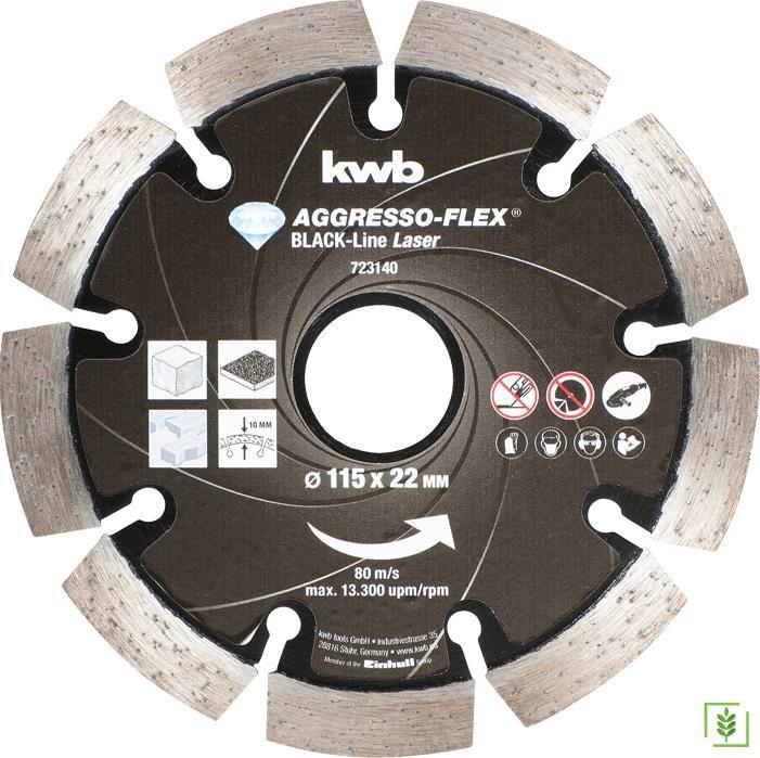 Kwb 723140 Elmas Beton Kesme 115x22 mm