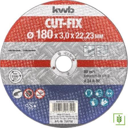 Kwb 791750 Flex Taş Metal Kesici 180x3x22,23 mm
