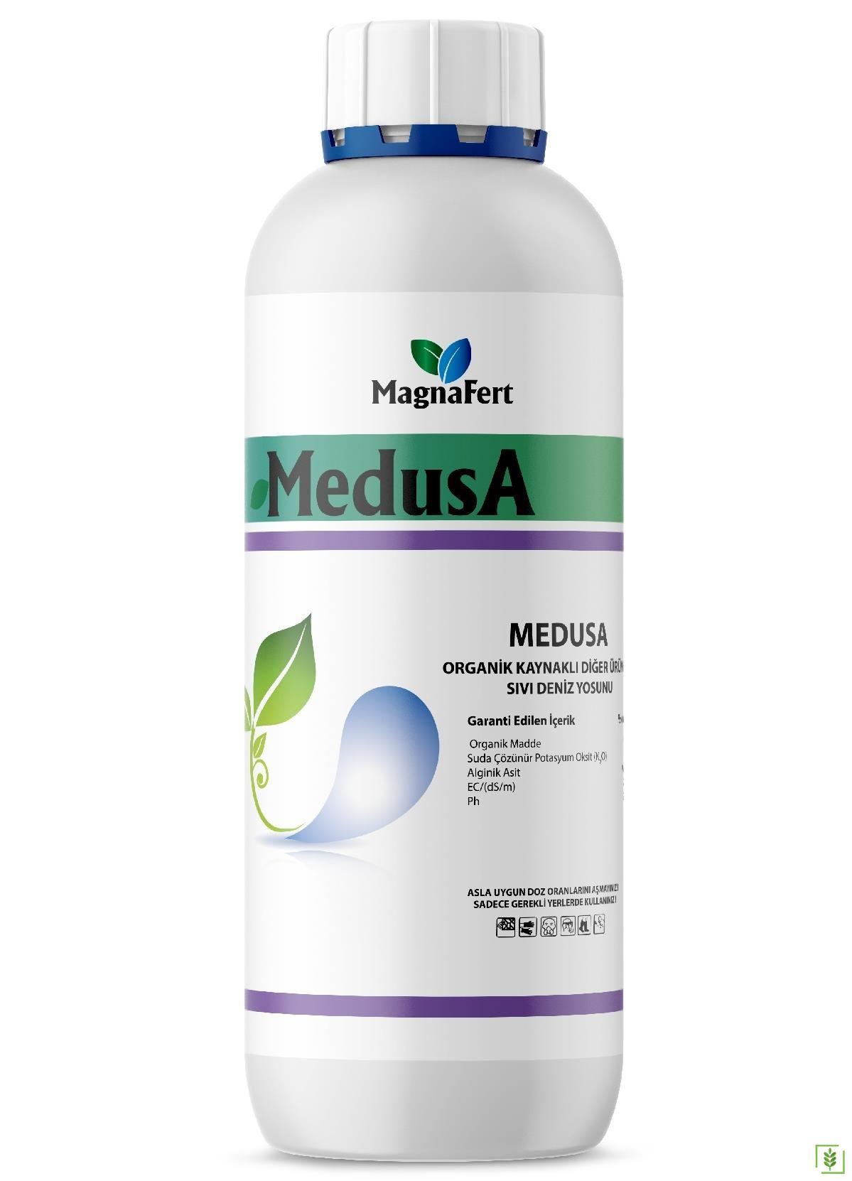 Medusa Organik Sıvı Deniz Yosunu Gübre 1 Lt