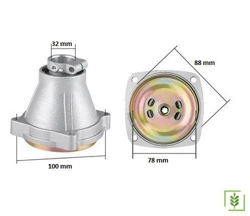 Motorlu Tırpan Balata Tası 32 mm / 9 Diş