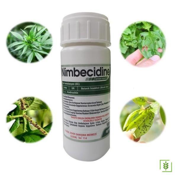 Nimbecidine  (0,3 g/L Azadirachtin)- Organik Genel İnsektisid 100 cc