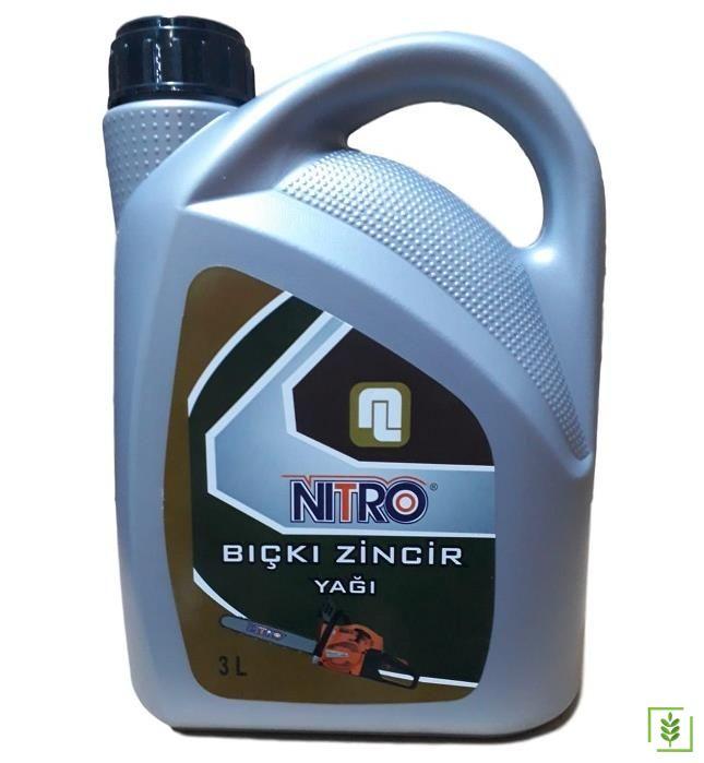 Nitro Motorlu Testere Kılavuz Zincir Yağı 3 Lt