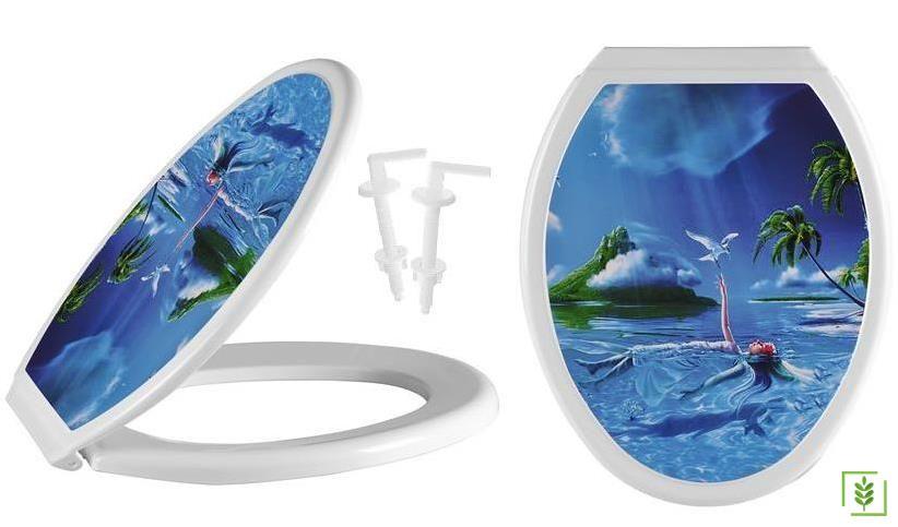Nova 2012 IML Okyanus Desen Klozet Kapağı