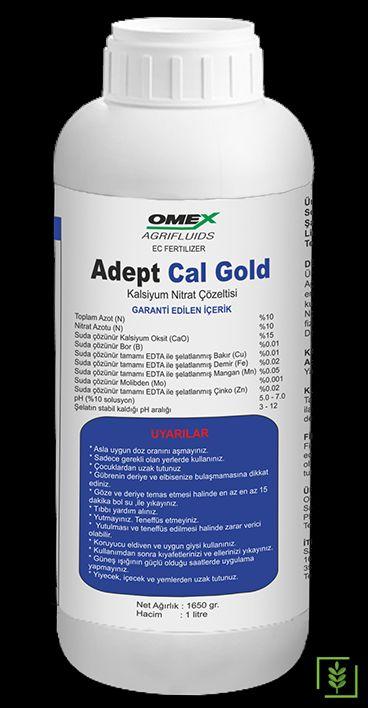 Omex Adept Cal Gold Kalsiyum Gübre Çözeltisi 1 lt