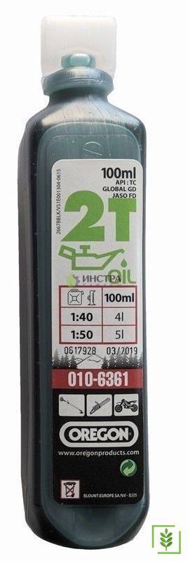 Oregon 2T Yarı Sentetik Motor Yağı 100 ml Yeşil