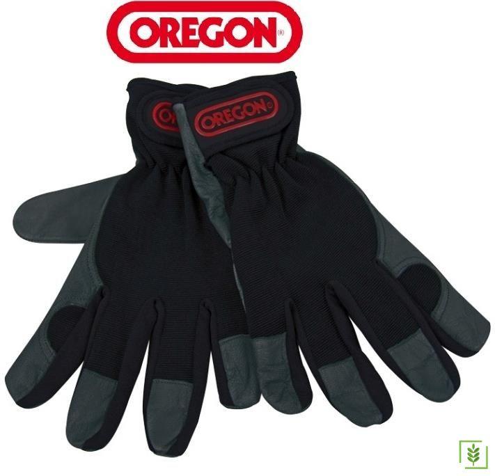 Oregon 539171M Deri-Kumaş Eldiven M Beden