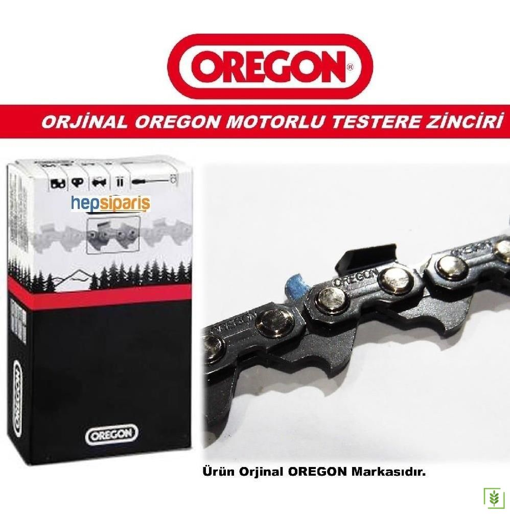 Oregon Motorlu Testere Zinciri 91-26 Diş