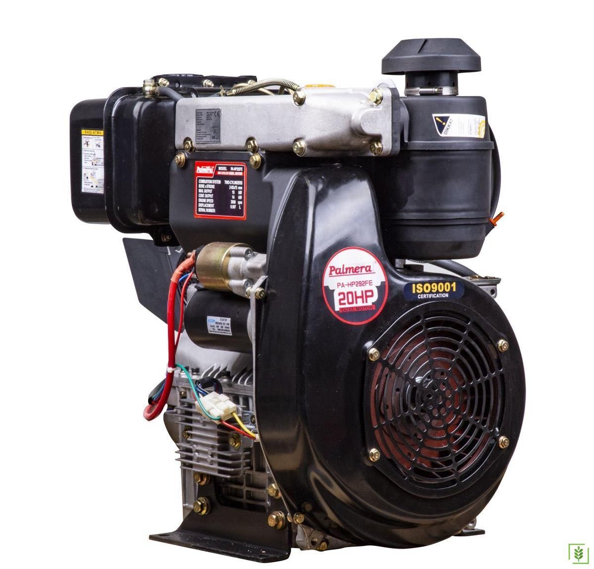 Palmera HP292FE Dizel Motor Kamalı Krank 20 Hp