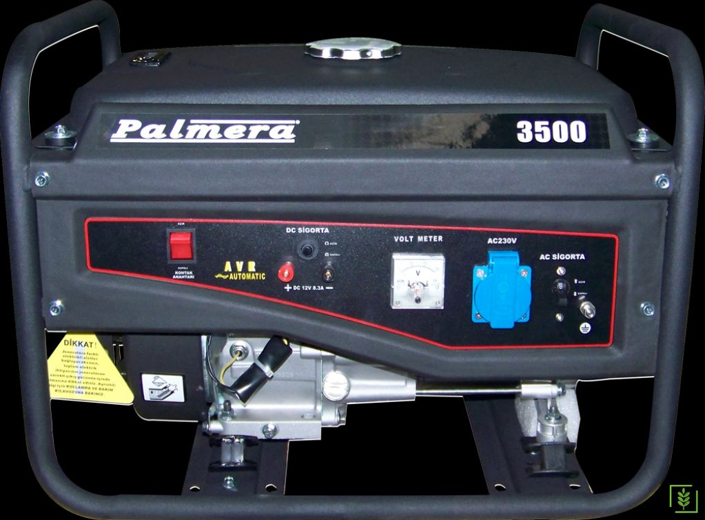 Palmera PA3500 Benzinli Monofaze Jeneratör