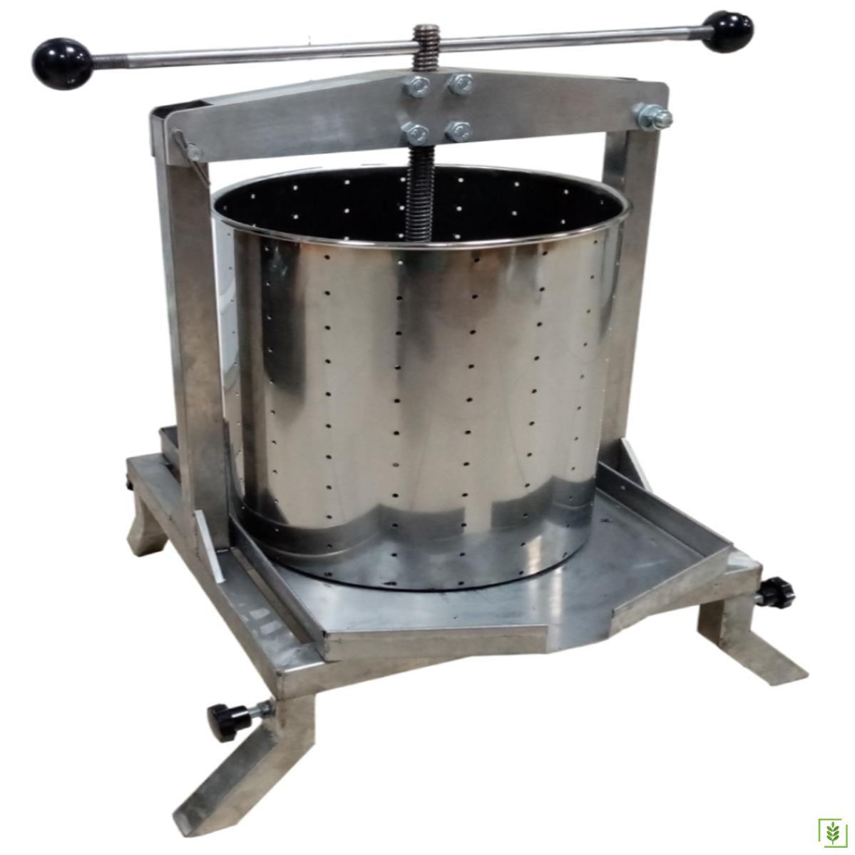 Pars PRS-50 Paslanmaz Çelik Meyve Sıkma Pres Makinesi 50 Lt