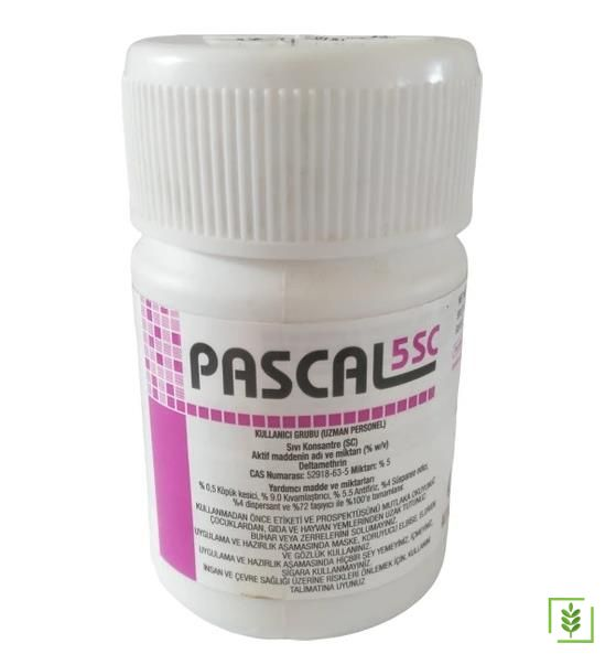 Pascal 5 SC Kokusuz Konsantre Haşere Böcek İlacı 50 ml
