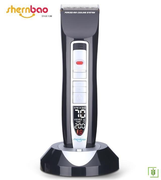 Shernbao PGC-660 Dijital Lityum Akülü Kedi-Köpek Traş Makinası