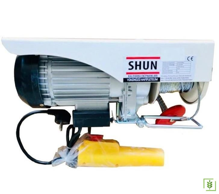 Shun PA1200 Elektrikli Mini Vinç Carsakal 600/1200 kg
