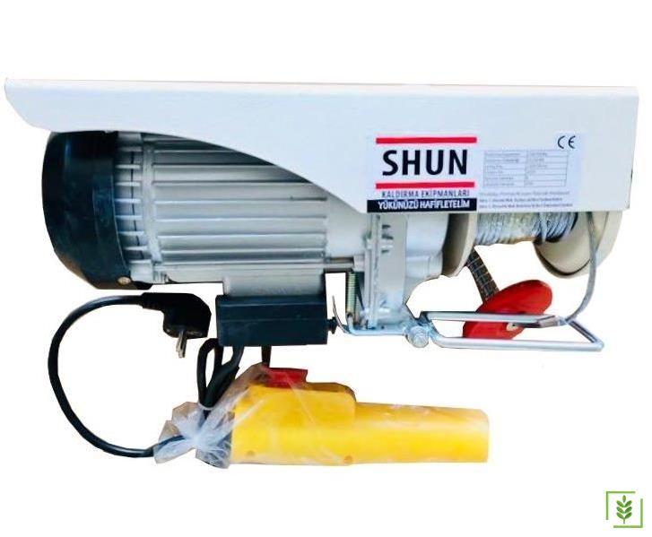 Shun PA300 Elektrikli Mini Vinç Caraskal 150/300 kg