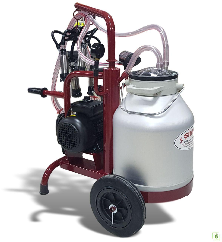 Şimşek Eco Tek Sağım Üniteli Süt Sağım Makinası Yeni