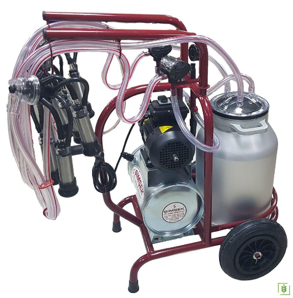 Şimşek Tek Sağım Üniteli Süt Sağım Makinası