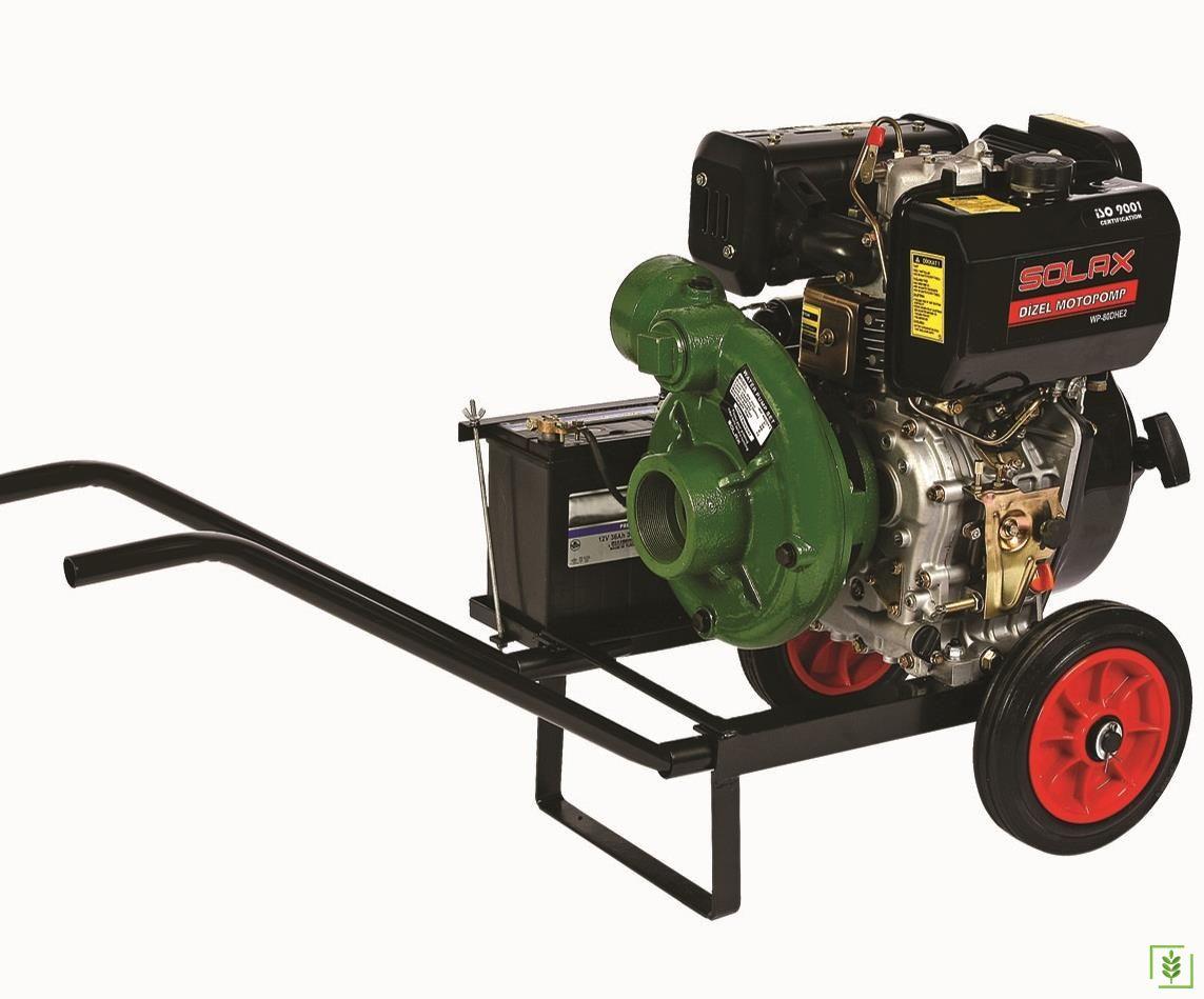 Solax SDP-3YN Dizel Yüksek Basınçlı Marşlı Su Motoru 3''