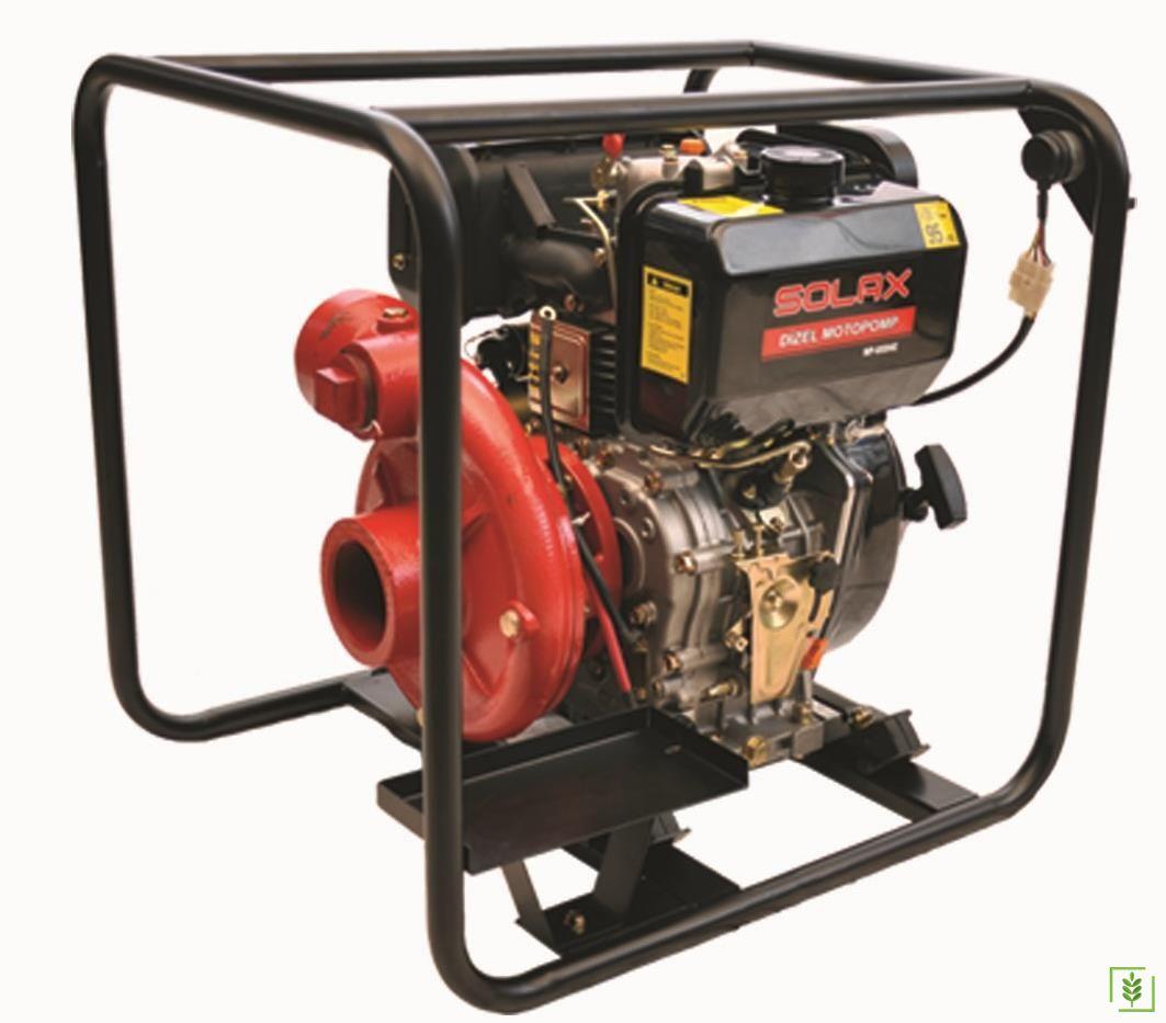 Solax WP80 DHE Yüksek Basınçlı Dizel Su Motoru Marşlı 3''