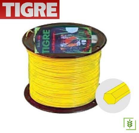 Tigre Tırpan Misinası Sarı Altıköşe 3.3 mm / 1000 mt