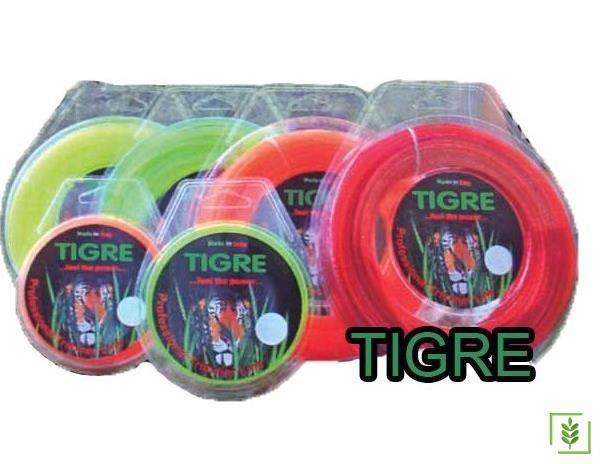 Tigre Tırpan Misinası Turuncu Dörtköşe 3 mm / 50 mt