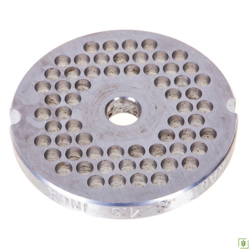 Tre Spade 11800 Elektrikli Salça ve Kıyma Makinası Delikli Çıkış Diski 4.5 mm