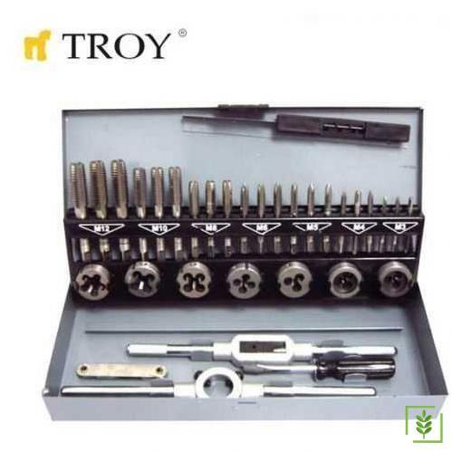 Troy 36000 Kılavuz Pafta Seti 32 Parça