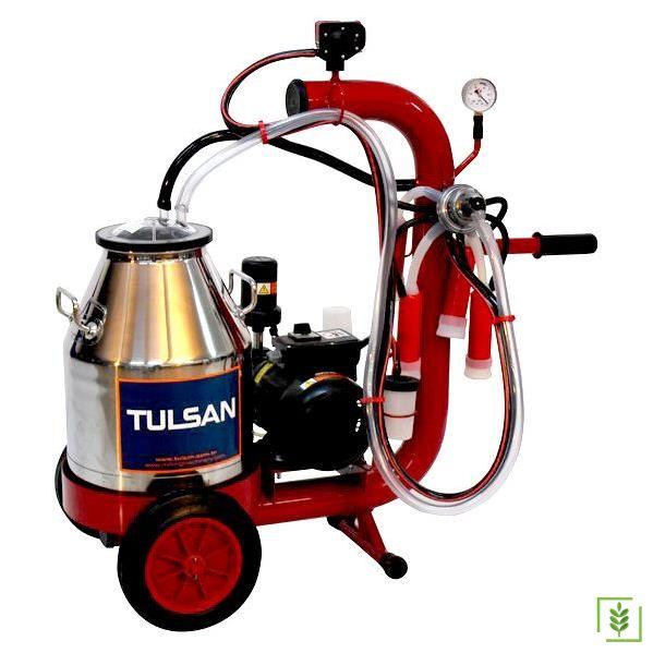 Tulsan Büyükbaş Tempo Lüx Tip Tekli Sağım Makinası