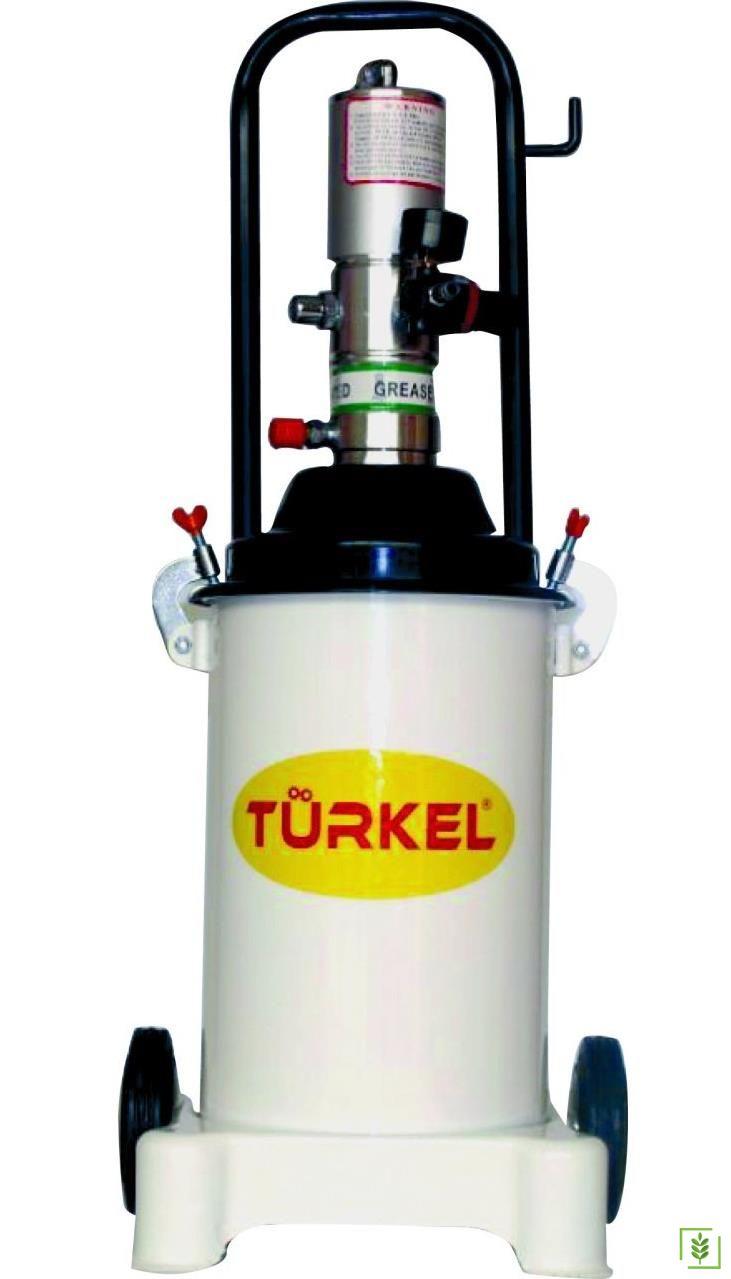 Türkel LD-608 Havalı Gres Pompası 12 Kg