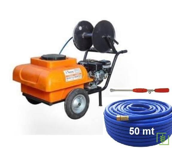 Türkoğlu T100B Benzinli İlaçlama Makinası 100 Lt + 50 mt Hortum