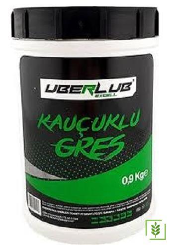 Uberlub Excell Kauçuklu Yeşil Gres 0.9 Kg