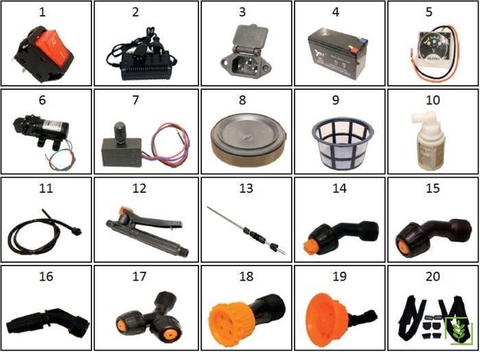 Veta Vt16A Akülü İlaçlama Pompası Açma/Kapama Anahtarı No-1