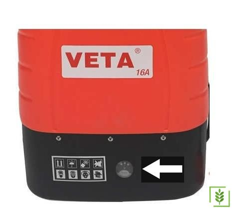 Veta Vt16A Akülü İlaçlama Şarj Göstergesi