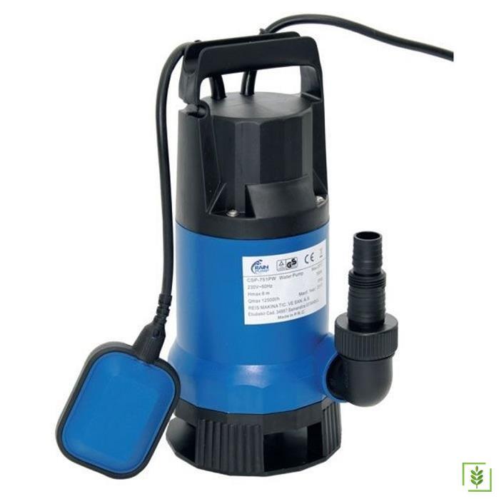 Water Plastik Gövdeli Drenaj Pompası