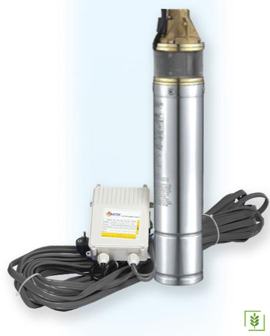 Water Ws 126 1 Hp Tek Kademeli Dalgıç Pompa