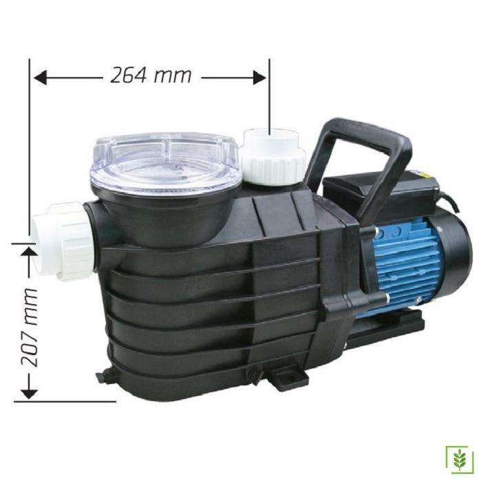 Water Ws 2538 Filitreli Havuz Pompası 1.5 Hp 380V
