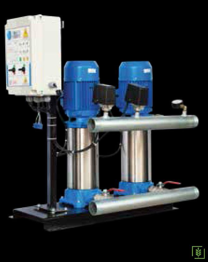 Water Ws 372 İki Pompalı Paket Hidrofor 2 Hp
