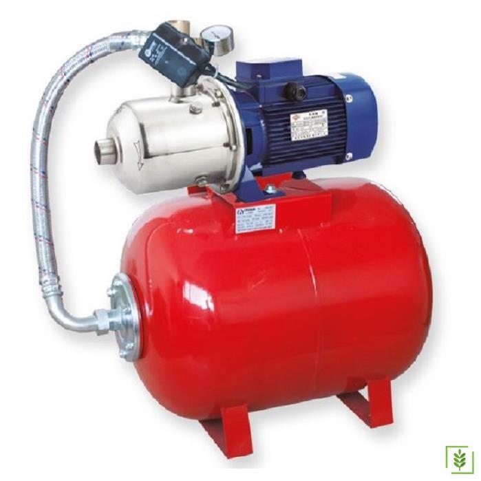 Water Ws 4406 Paslanmaz 304 Tanklı Paket Hidrofor 1 Hp