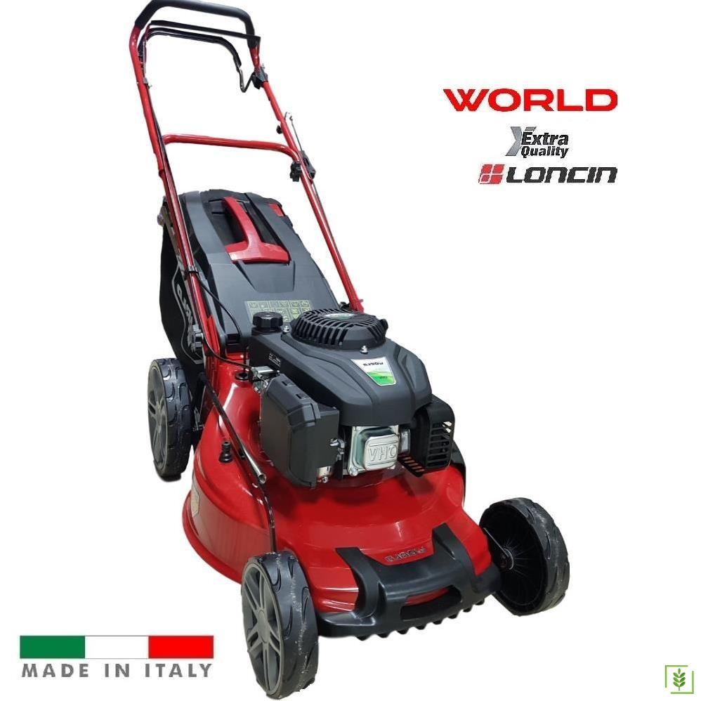 World VJZ20H-B Şanzımanlı Çim Biçme Makinesi 51 cm