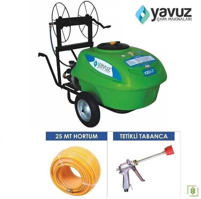 Yavuz Benzinli İlaçlama Makinası 100 Lt