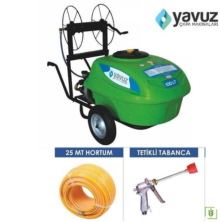 Yavuz Elektrikli İlaçlama Makinası 100 lt