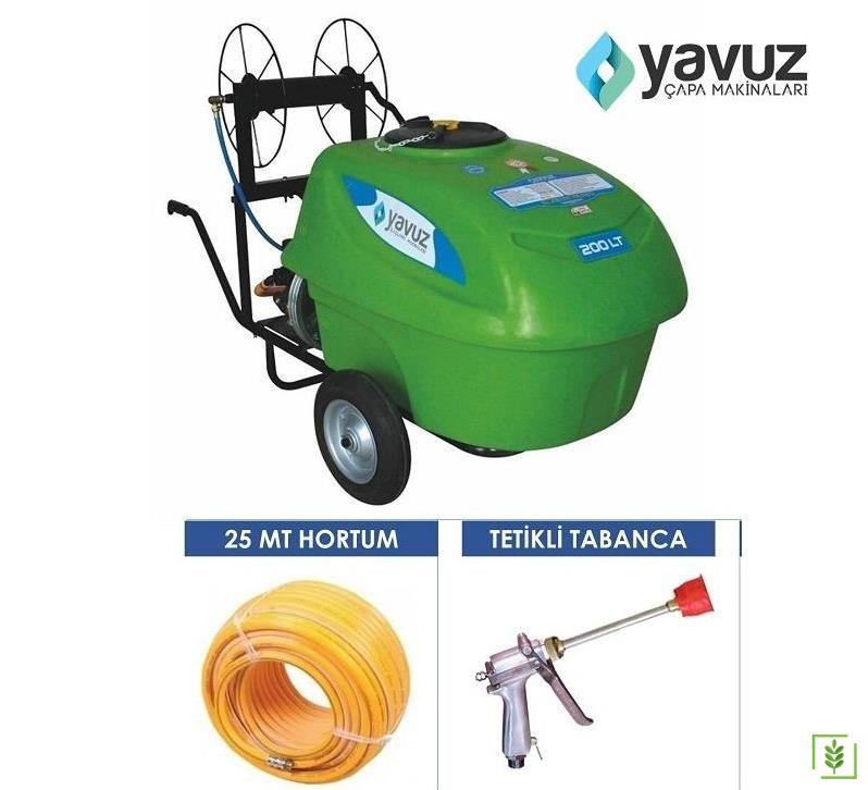 Yavuz Elektrikli İlaçlama Makinası 200 Lt